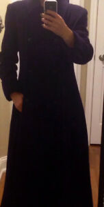 Beautiful cashmere wool coat, like new, only $55