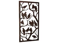 Night of the Ravens Mysterious Silhouette Metal Wall Sculpture — RRP £60