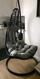 Brand New Single Hanging Chair With Stand