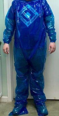 Blue Body Suit (Blue Plastic Body Suit - One Size Fits)