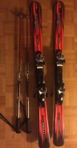 Junior - brand new skis, bindings and poles