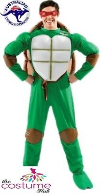 ADULT MENS Licensed Teenage Mutant Ninja Turtle Costume - Ninja Turtle Adult