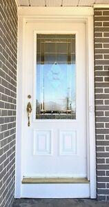 Entry Door w/Glass