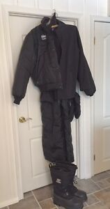 CHOKO 400 SNOWMOBILE SUIT, GLOVES & BOOTS
