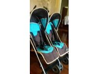 DOUBLE BUGGY BY CENTURY IN BLUE AND