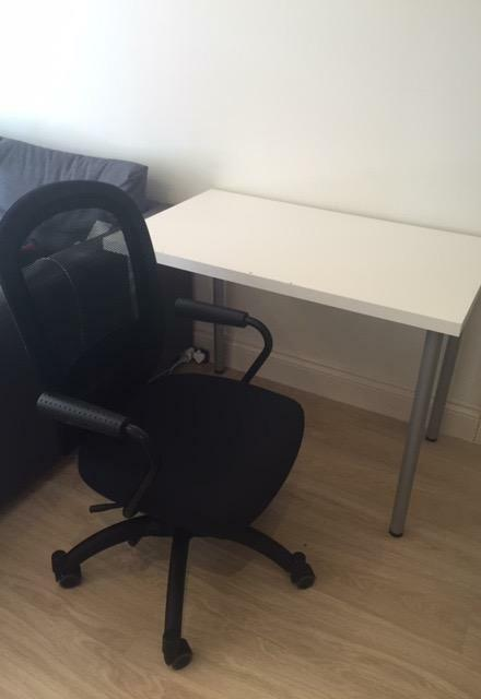 IKEA desk table and legs in New Malden London
