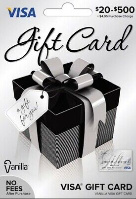 $100 GIFT CARD. ACTIVATED. No Fees. FREE Shipping. Ready to use!!