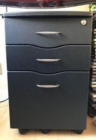Documents Cabinet Storage Pedestals with 3 Drawers - Home Office Furniture