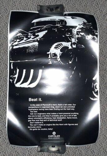 """New MOPAR 426 Hemi """"VooDoo"""" poster"""