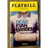 Dear Evan Hansen playbill! OBC! Ben Platt - Tony winner! Free, quick shipping!