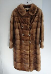 FUR - MINK COAT AND MATCHING HAT