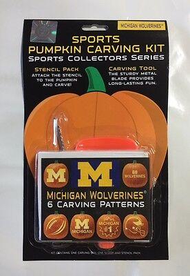 Halloween Pumpkin Carving Kit NEW 6 patters jack-o-latern (Halloween Michigan)