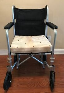 Transport Wheel Chair with Foot Rest