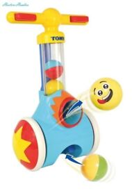 Tomy Pick n Pop toddler toy. As new condition.