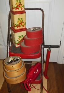 some vintage red items London Ontario image 1