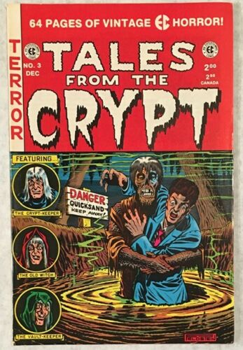 Tales From The Crypt No 3 EC Horror 1991 64 Page Reprint Feldstein, Wally Wood