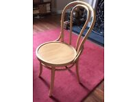 3 bentwood kitchen dining chairs blond wood , ? beech