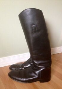 Leather English Riding Boots - Men's Size 11.5