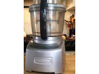 Cuisinart food processor, (three bowls) 3.8 l capacity, VGC,