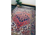 ZSA ZSA - Antique Traditional Vintage Persian Wool 290 x 202CM Handmade Carpet Rugs