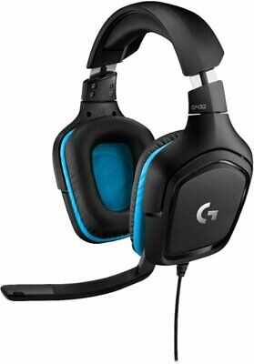 Logitech G432 Wired 7.1 Surround Sound Gaming Headset for PC 097855145703