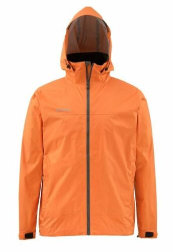 Simms Closeout Hyalite Rain Shell Clay, Select Sizes