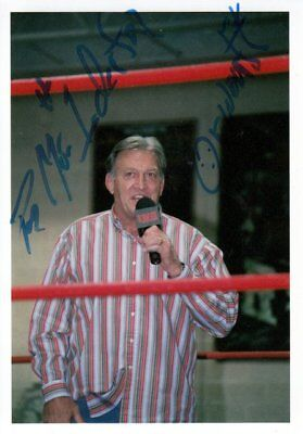 Paul Orndorff (USA) Mr.Wonderful Wrestling original signiert/signed !!
