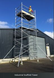 Tower Scaffolding & Roofing Ladder