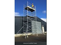 **REDUCED** Tower Scaffolding & Roofing Ladder
