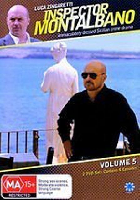INSPECTOR MONTALBANO - VOLUME 5 (2 DVD SET) BRAND NEW!!! SEALED!!!