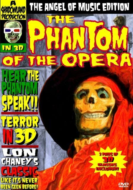 The Phantom of the Opera: Angel of Music Edition 2-Disc DVD Set (3D and Sound!)