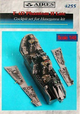 Aires 1/48 F-4D Phantom II Late Cockpit Set for Hasegawa kit 4255