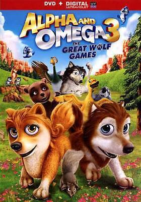 Alpha and Omega 3: The Great Wolf Games, Free Birds, The Nut Job (3 DVDs)