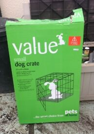 Fold Down Small Dog Crate