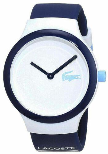 Brand NEW  Lacoste unisex 2020123- GOA  Navy & blue SILICONE Watch