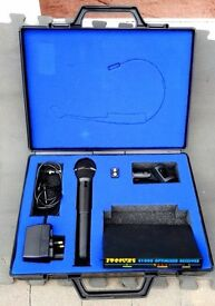 Trantec Wireless Microphone S1000 with case