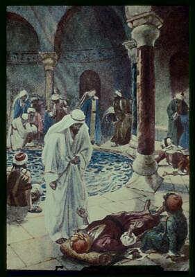 John 5:2-9,Jesus findeth an infirm man at the pool of Bethesda waiting be (The Man At The Pool Of Bethesda)