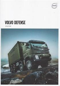 VOLVO FMX 2016 4x4 6x6 SWEDISH ARMY MILITARY VOLVO DEFENSE BROCHURE PROSPEKT - Opole, Polska - VOLVO FMX 2016 4x4 6x6 SWEDISH ARMY MILITARY VOLVO DEFENSE BROCHURE PROSPEKT - Opole, Polska