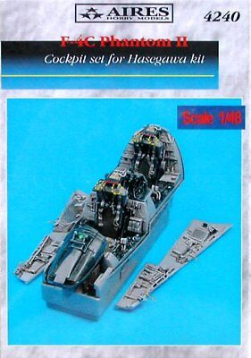 Aires 1/48 F-4C Phantom II Cockpit Set for Hasegawa kit 4240