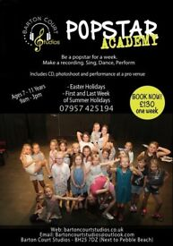 Easter Holidays - Popstar Academy Week!
