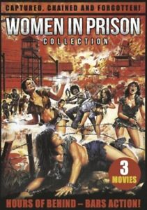 WOMEN IN PRISON COLLECTION 3 MOVIE PACK, 0760137598992