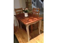 £225.00 Medium size Antique dining table sitting 4 £225 OBE.