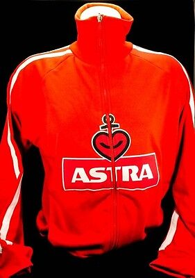 Astra Bier Brauerei Men Sweatshirtjacke-Sweater, Gr.M Kiez Hamburg
