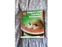 Children's Care Learning and Development Text Book by Gill Squire