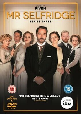 NEW Mr Selfridge Series 3 DVD