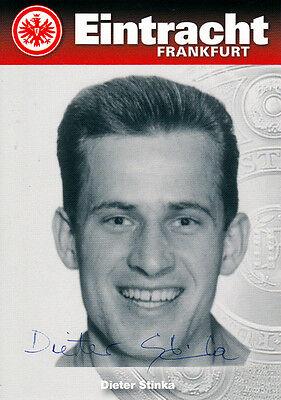 Dieter Stinka, 1959 Meister Eintracht Frankfurt original signiert/signed !!!