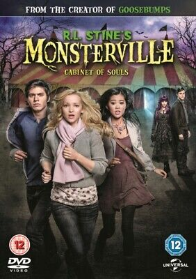 R L Stines - Monsterville - The Cabinet Of Souls DVD NEW...