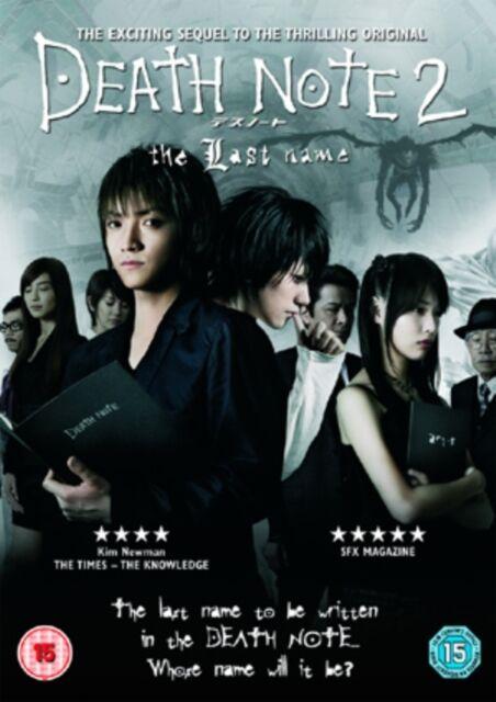 Death Note 2: The Last Name [DVD] [2006], 5034741374910, Erika Toda, Takeshi Ka.