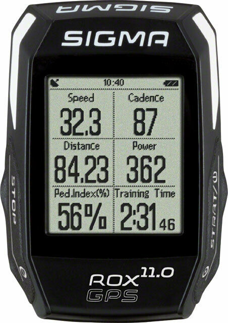 Sigma ROX GPS 11.0 Cycling Computer Set Black