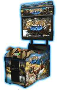 Big Buck Hunter Panorama HD Coin Operated Arcade Game